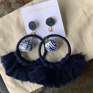 Jewelry - Rio Ginger Jar Tassel earrings